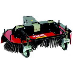 Twin rotor weed brush 102cm KWE102