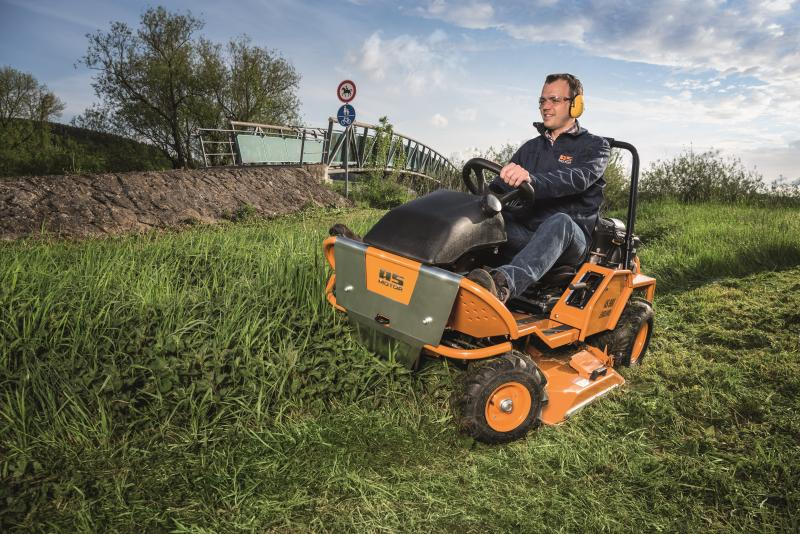 Check out the NEW AS 980 Ride-On Mower