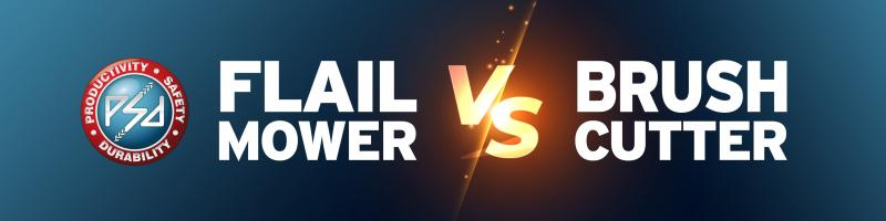 Flail Mower vs Brushcutter - Which is the best option?